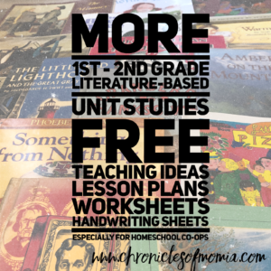 Learning through Literature for Homeschool Coops - More FIAR